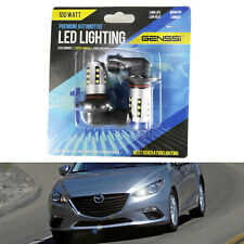 2 High Power White 100W 9005 HB3 LED Bulbs DRL Daytime Running Lights For Mazda