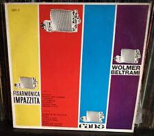 Wolmer Beltrami-Fisarmonica Impazzita Lp Italy EX/NM Rare