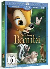 BAMBI (Walt Disney), Diamond Edition Blu-ray + DVD