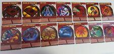 Set of 14 Bakugan Battle Brawlers Cards (Not Magnetic)