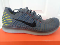 Nike Free RN flyknit mens trainers shoes 831069 008 uk 9.5 eu 44.5 us 10 NEW+BOX