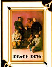 Beach Boys U.S. concert program tourbook 1968 Friends Tour w/fold-out poster Vg+