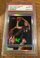 1997-98 Topps Chrome Refractor #118 Keith Van Horn PSA 8 NM-MT Rookie RC Nets