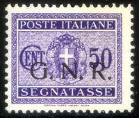 R.S.I. 1944 Segnatasse n. 53/I Brescia ** (s090)