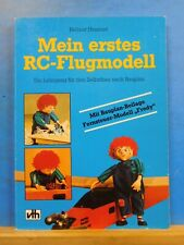 Mein Erstes RC-Flugmodell by Helmut Hausner RC Aircraft Soft Cover 1987  112 pg