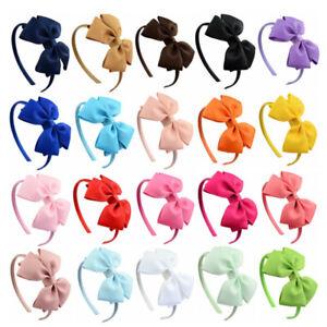 New Cute Kids Hair Hoop Headbands Sweet Bow Hair Accessories Headwear B OH