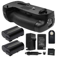 Battery Grip for Nikon D750 + 2x EN-EL15 + Charger + Remote + Microfiber