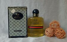 """VINTAGE"" Eau de Gucci Concentree 250ml splash , descatalogada rare. Box damaged"