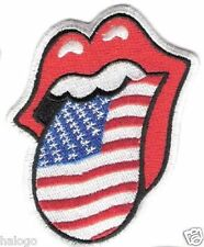 MICK JAGGER ROLLING STONES USA PATCH - SBL15