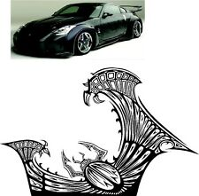 FAST AND FURIOUS NISSAN 350Z CAR VINYL DECALS SIDE CAR