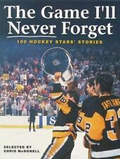 The Game I'll Never Forget: 100 Hockey Stars' Stories  Paperback