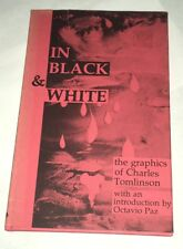 In Black & White The Graphics of Charles Tomlinson 1975 Paintings Poetry