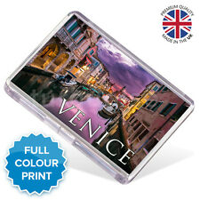 Venice Italy Souvenir Photo Gift Fridge Magnet 70 x 45 mm | Large Size