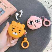 KAKAO FRIENDS Character Airpod Case Protective Silicone Cover Skin Authentic MD