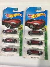 2017 Hot Wheels Aston Martin One-77 Lot Of 6 Cars Vhtf Red Exotic Rare Racing