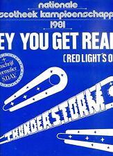 THUNDERSTORM hey you get ready 12INCH 45 RPM DUTCH 1981 EX