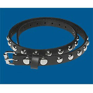 Gothic Studded 19mm UK Handmade Real Leather Jean Belt Sizes S M L XL