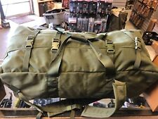 US Military IMPROVED Deployment Duffle Duffel Flight Travel Bag Back Pack EXC