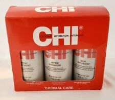 Chi Thermal Care Set Silk Infusion Infra Shampoo Infra Treatment 6 fl.oz Each