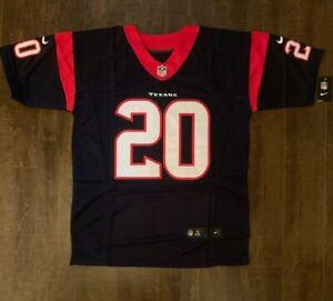 Ed Reed Houston Texans Mens On Field Jersey Size 48 Free Ship (G)