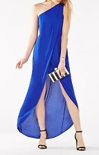 NEW BCBG MAX AZRIA ROYALBLUE DRIES ONE-SHOULDER  GOWN SIZE 6 &10