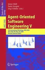 Agent-Oriented Software Engineering V: 5th International Workshop,-ExLibrary