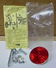 Vintage Schwinn Gulco 2222 Bicycle Reflector 2 1/4 Inch - Bright Star - NOS