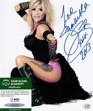 SAMANTHA FOX - Signed 8x10 Photo #2 SGC Certified Auto  Touch Me