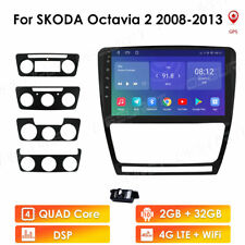 Car Radio For Skoda Octavia 2 2008-2013 GPS Navi Stereo 2G+32G Android10 DSP SWC