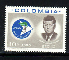 COLOMBIA #C455    1963  J.F.K  MINT  VF NH  O.G