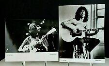 Pat Metheny, Two 7x9 PR Photos, ECM Records (1981 &1984)