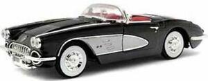 Chevrolet CORVETTE 1958 schwarz MotorMax 1:18