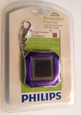 Philips Personalized Digital Photo Keychain Memory 8Mb 1.5inch LCD Jpeg Mp