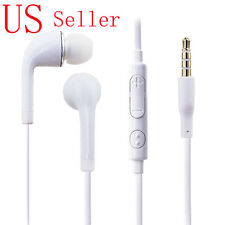 For Samsung Galaxy Note 1 2 3 4 5 & Edge Headset Earphone Earbud White
