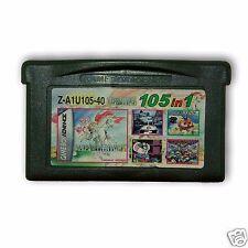 【 105 in 1 】Nintendo Game Boy Advance SP Handheld System Cartridges
