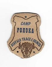 BOY SCOUT  CAMP POHOKA LEATHER  PP         BUFFALO TRACE COUNCIL   IND
