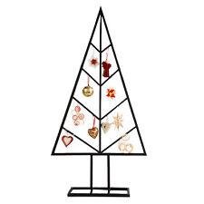 Wunderbar Deko Metall Weihnachtsbaum mit Haken Weihnachtsdekoration 80cm