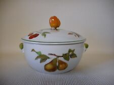 ROYAL WORCESTER EVESHAM VALE TUREEN 170mm ACROSS - GREAT CONDITION