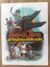 Affiche SUPER BOY LE VOLEUR DE HONG KONG  fantastique arts martiaux  60x80cm *