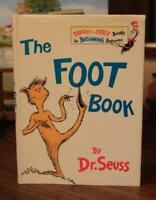 Dr. Seuss THE FOOT BOOK 1968 1st ED w/ VG+ DJ NICE RARE suess childrens HIGHSPOT