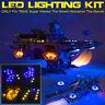 ❤️ LED Light Lighting Kit ONLY For LEGO 76042 The Shield Helicarrier Bricks  ^