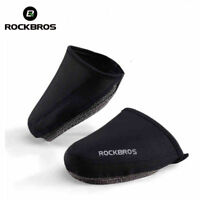 RockBros Cycling Shoe Cover Windproof Warm Half Overshoe Shoe Covers Black