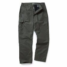 Craghoppers Mens C65 Winter Lined Trousers - Regular Leg 38 Dark Khaki Cmj441r 2at038