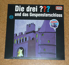 LP Die Drei Fragezeichen und das Gespensterschloß Folge 11 Picture Neu New OVP