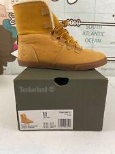New Timberland Womens Dausette Fleece Fold Down Boots Size 8.5