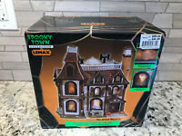Lemax Spooky Town Alford Mansion 2002 Retired 2008 MISSING POWER CABLE