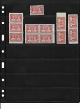 Canada MNH Stamps , King George V and Queen Mary 3 cents carmine, Value $ 54,00