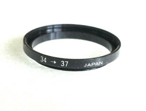 34-37mm Step-Up Ring Adapter - 34mm-37mm Stepping Ring - Japan - NEW