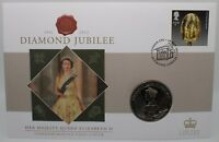 2012 | Diamond Jubilee FDC w/£2 Coin | Coins | KM Coins