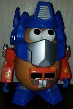 1985 Mr. Potato Head Transformers - Optimash Prime BLUE/ORANGE Truck Complete!